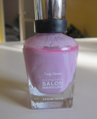 Sally Hansen 406 Purple Heart